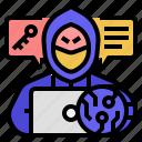 hacker, anonymous, crime, cybercrime, spy, criminal, digital asset criminals