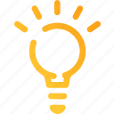 bulb, creativity, design, graphic, idea, marketing, thinking icon