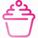 creativity, cupcake, design, food, graphic, sweets, team icon