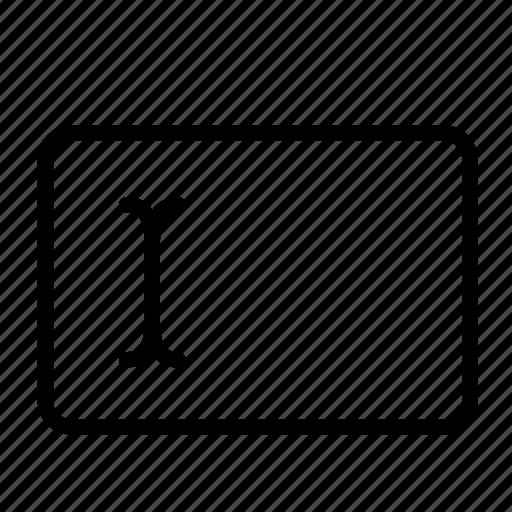 cursor, design, development, input, text, text field, textedit icon