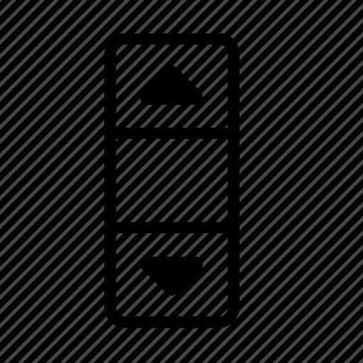 design, development, scroll, scroll bar, scrolling icon