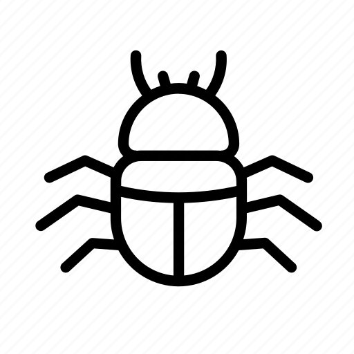 bug, bug fix, design, development, error, line icon