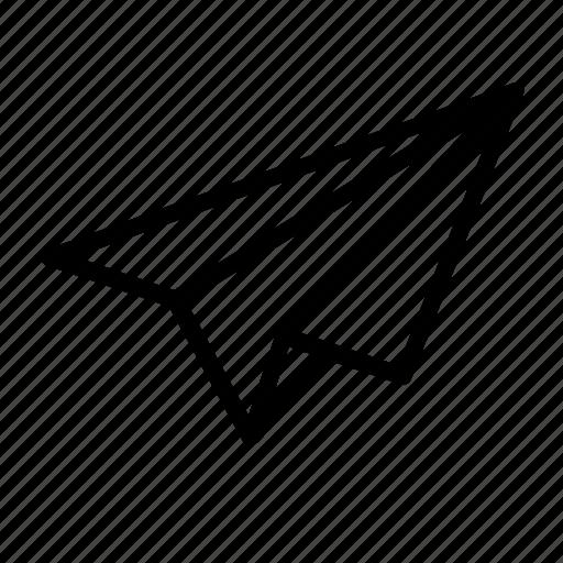 application release, build, design, development, paper plane, release, send icon