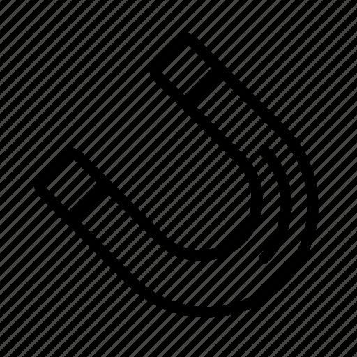 design, development, loadstone, lode, magnet icon
