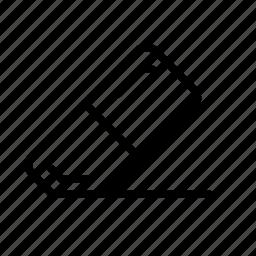 design, development, eraser, rubber, rubber band icon