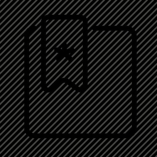bookmark, design, development, favorite, favorites icon