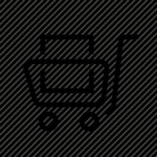 cart, design, development, full, shop icon