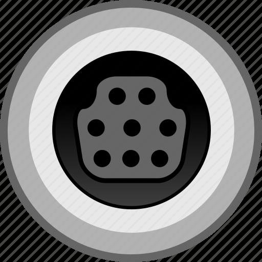 connection, data, electron, port icon