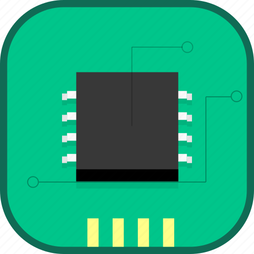 chip, cpu, electron, processer, technology icon