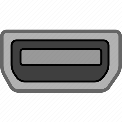 connection, data, electron, port icon