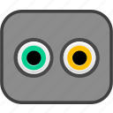 data, port icon