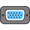 communication, connection, electron, port icon