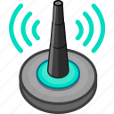 network, router, share, signal, wifi, wireless, wlan icon