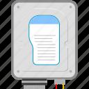 data, file, hard disk, storage icon