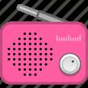 audio, multimedia, news, radio icon