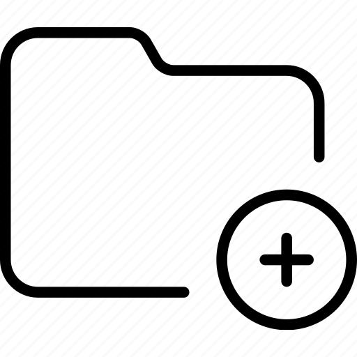 add, document, file, folder, new, plus icon