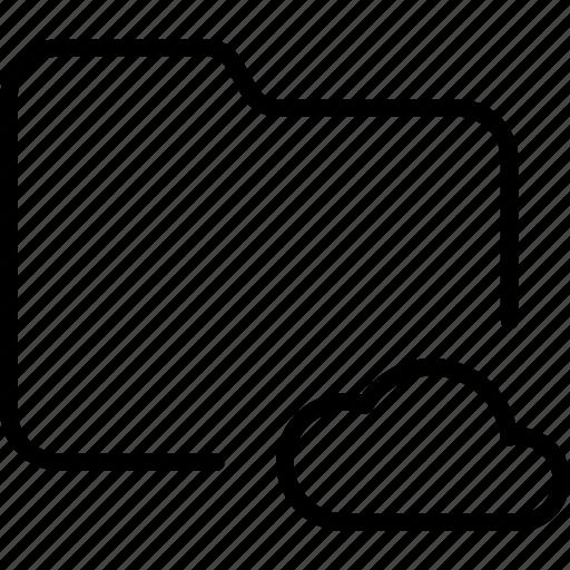 cloud, data, document, file, folder, internet, storage icon