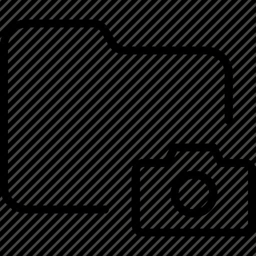 camera, document, file, folder, image, photo icon