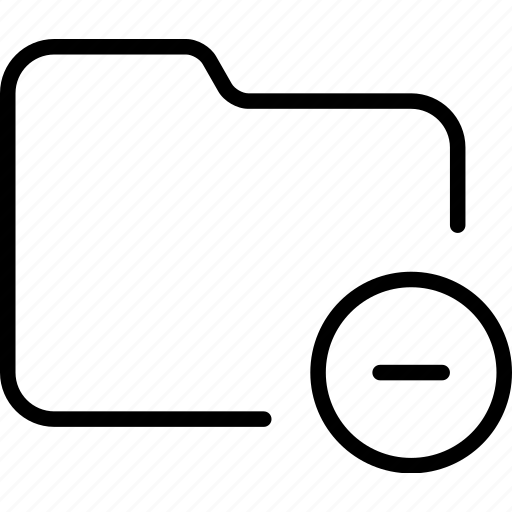 delete, document, file, folder, minus, reduce icon