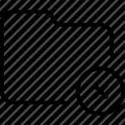 document, error, file, folder, rejected, unavailable icon