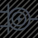 circuit, electric, electronic, exclusive or gate, logic gate, xor, xor gate icon