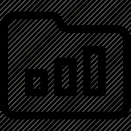 data, document, file, folder, performance, statistics icon