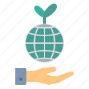 earth, ecological, environment, nature, plant, renewable, tree icon