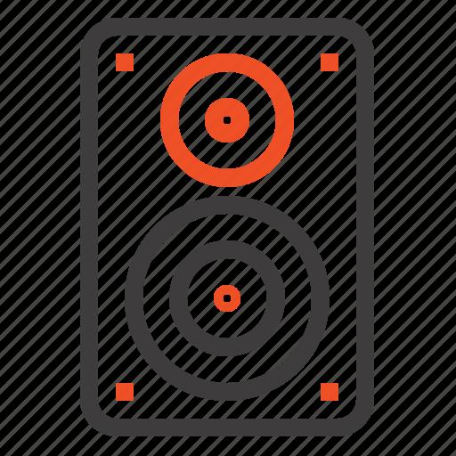 Audio, hifi, loudspeaker, monitor, professional icon - Download on Iconfinder