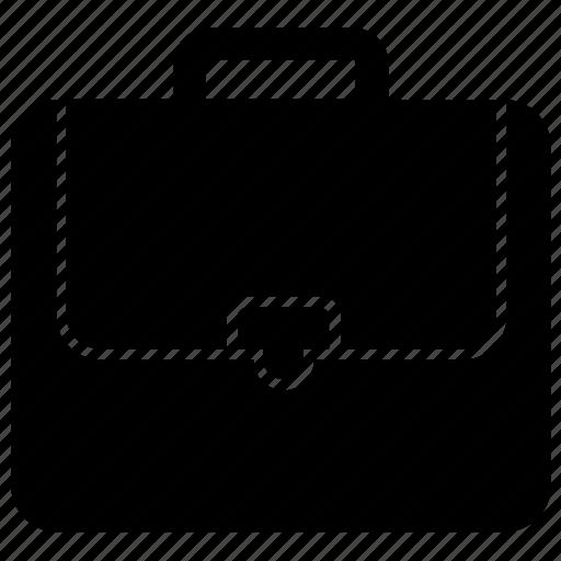 Briefcase, business case, laptop bag, office case, portfolio bag icon - Download on Iconfinder