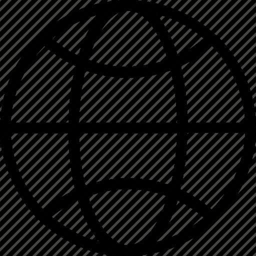 earth, globe, grid, internet, planet icon