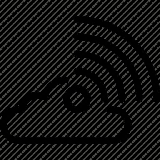 cloud network, network, wifi, wifi cloud, wireless icon