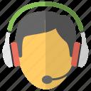 customer center, customer support, helpline, helpline services, telephone service icon