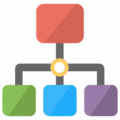 Hierarchy, network structure, networking, organizational chart, workflow icon - Download on Iconfinder