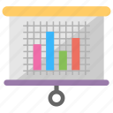 analytics, bar graph, market data, marketing planning, statistics icon