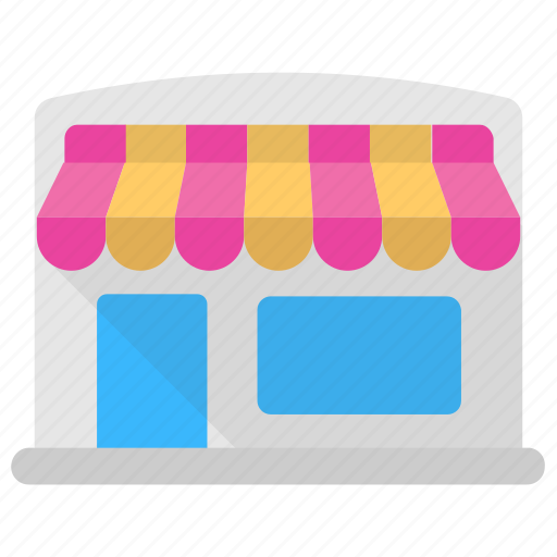 Commercial building, marketplace, shop, store, storefront icon - Download on Iconfinder