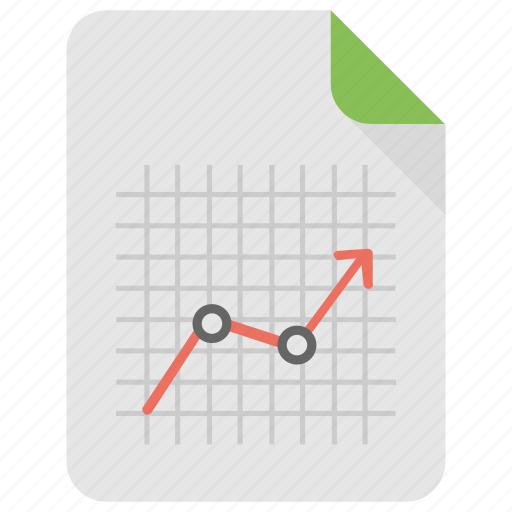 Analytical representation, business data report, business evaluation chart, market overview, market report icon - Download on Iconfinder