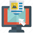 business mail, digital marketing, email, mailing, notification mail, social mailing icon