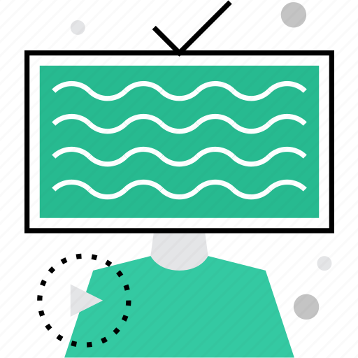 advertising, blogger, commercial, live, streamer, streaming, tv icon