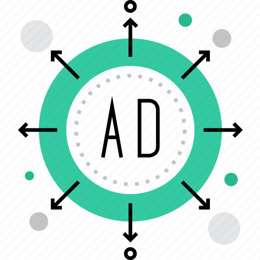 advertising, broadcast, campaign, channels, digital, marketing, promotion icon