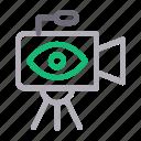 camera, capture, gadget, video, view icon