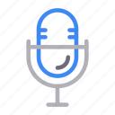 marketing, media, microphone, mike, recorder icon