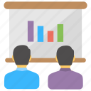 business meeting, conference, convention, convocation, seminar icon