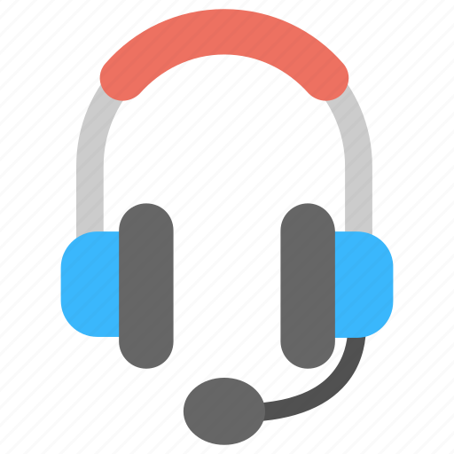 Audio device, call operator, earphone, headphone, headphone with mic, headset icon - Download on Iconfinder