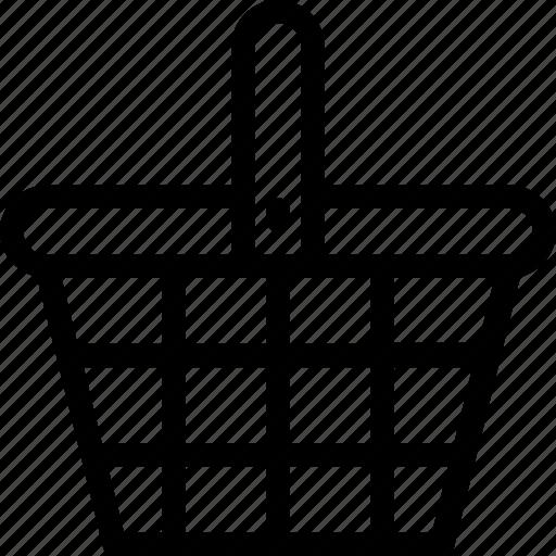 basket, buy, hamper, shopping, shopping basket icon