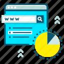 advertisement, digital, internet, marketing, online, search icon