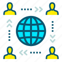 feedback, global marketing, marketing, organization, promotion, world icon