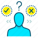 feedback, help, opinion, question, questionnaire, survey icon