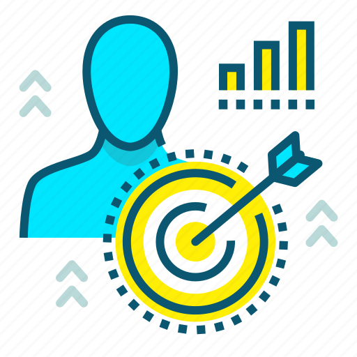 customer, group, market, marketing, people, seo, target icon