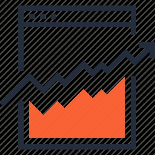 Analysis, analytics, chart, graph, monitoring, statistics, web icon - Download on Iconfinder