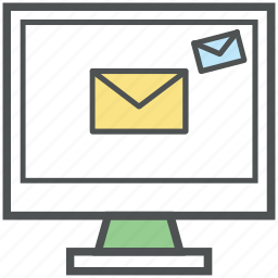 electronic marketing, email campaigns, email marketing, vpn marketing icon